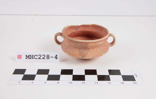 vas de ceràmica romana de parets fines