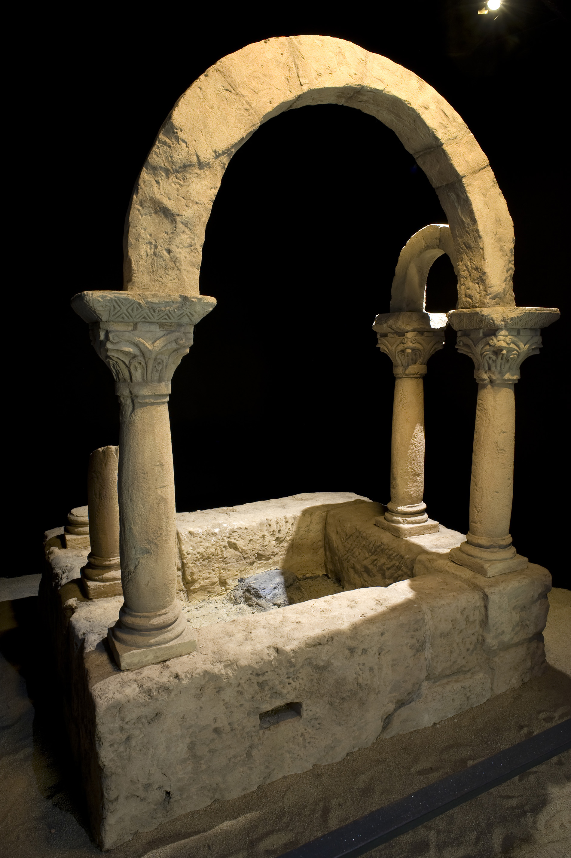 El baptisterio de Bovalar
