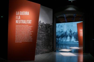 Entrada de l'àmbit «La Guerra i la neutralitat»