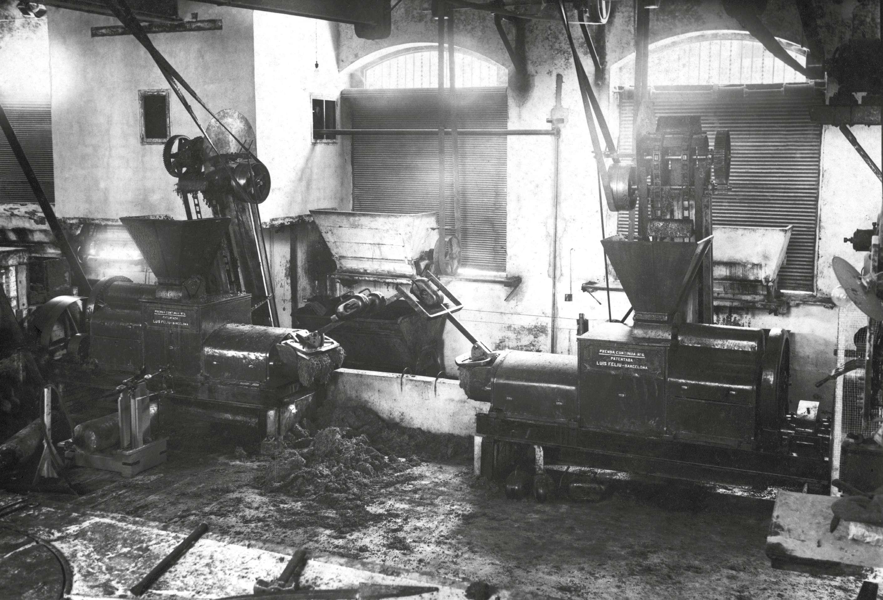 La mecanització del camp