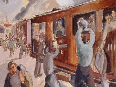 Arribada a Tarascón. 1940